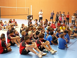 CLAP Volley-Ball Jeunes Gymnase Armorin